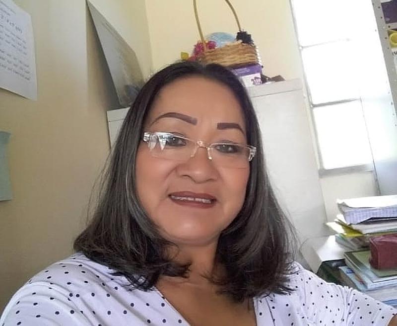 Professora Macuxi Bernita Miguel, primeira professora vítima de coronavírus em Roraima / (Reprodução / Facebook)