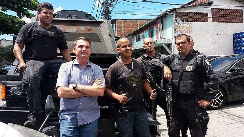 bolsonaro policiais