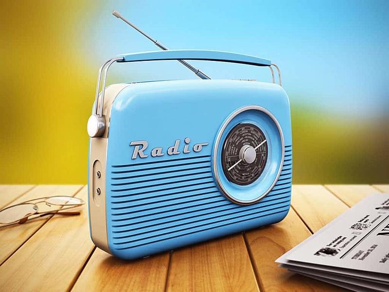 rádio de pilha