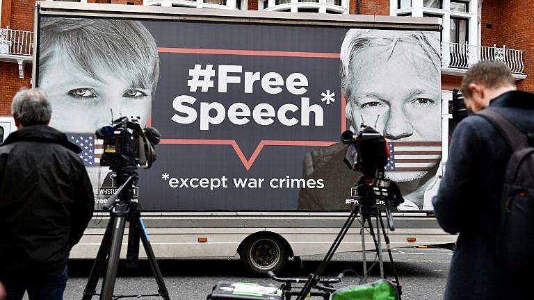 Caso Assange ataca a liberdade