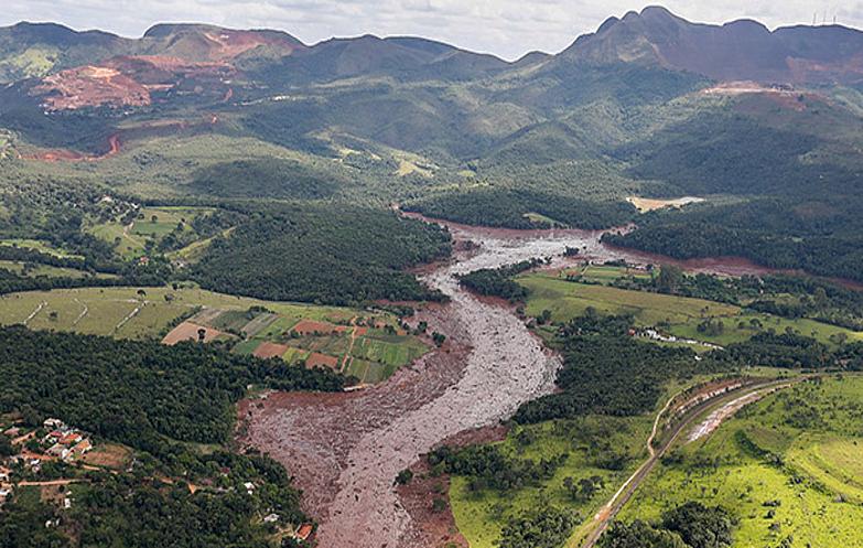 foto rio lama brumadinho