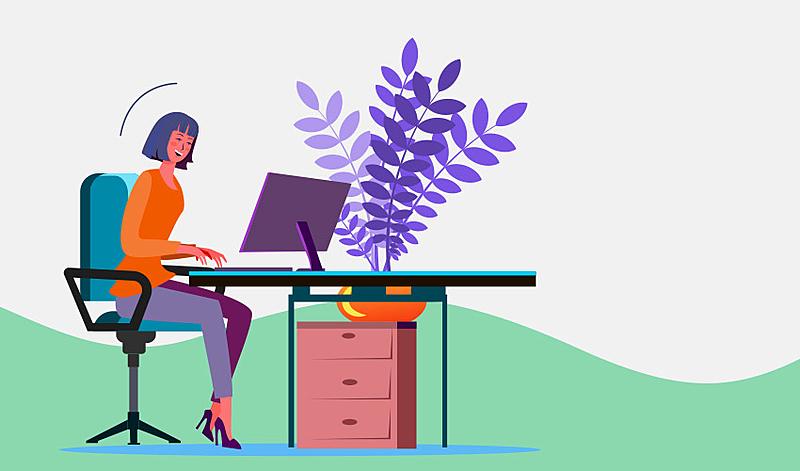 desenho, home office