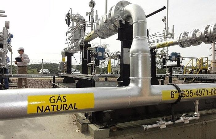 Dados da ANP de 2019 mostram que país produz 124,0 mil milhões m³ de gás natural por dia, sendo a Petrobras a produtora de 75% desse total