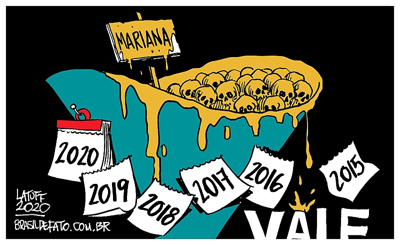 Charge Crime na Vale em Mariana