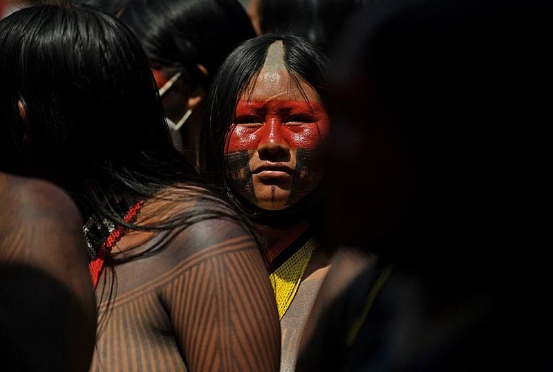 A 2ª Marcha Nacional das Mulheres Indígenas, em Brasília, foi chamada de Primavera Indígena.