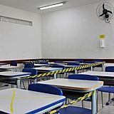 sala de aula pandemia