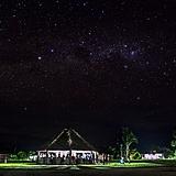 Céu estrelado na aldeia Tukayá na Terra Indígena Xipaya (PA).